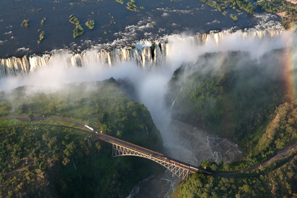 Cascate vittoria Zambia