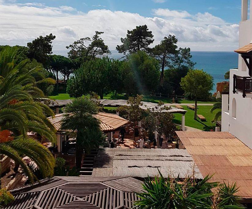 jardines de pine cliffs resort en Algarve