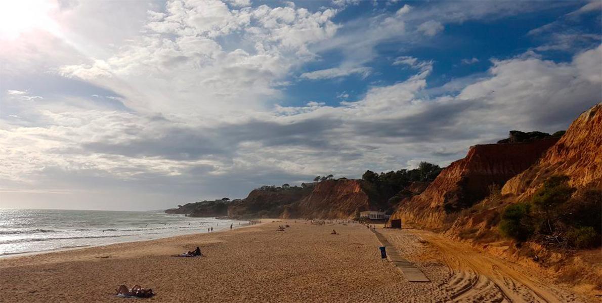 playa del Algarve desde Pine Cliffs Hotel