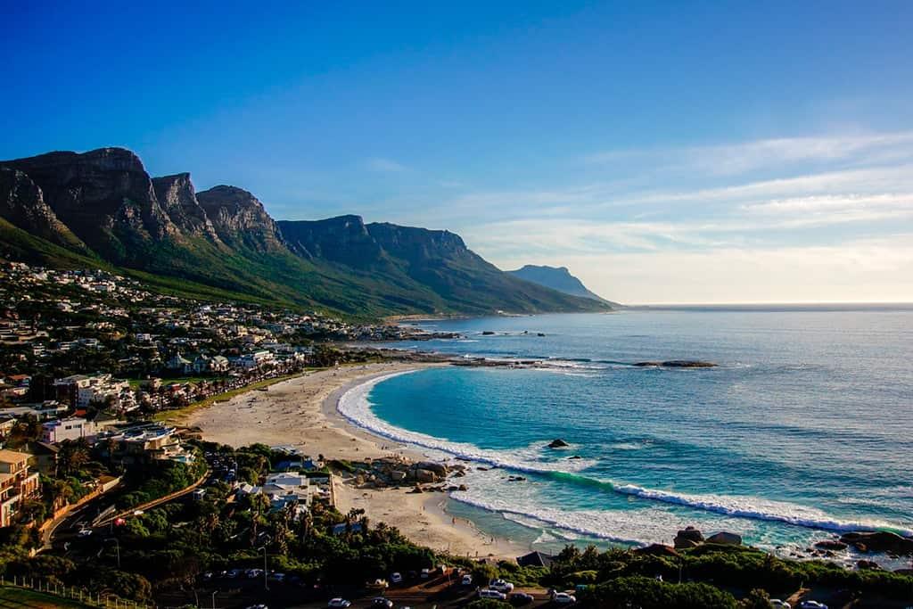 Playa de Camps Bay en Cape Town