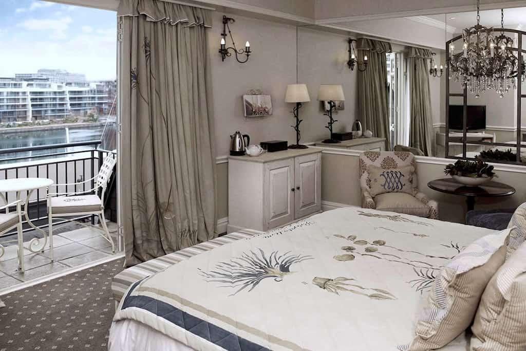 Dormitorio Hotel Cape Grace