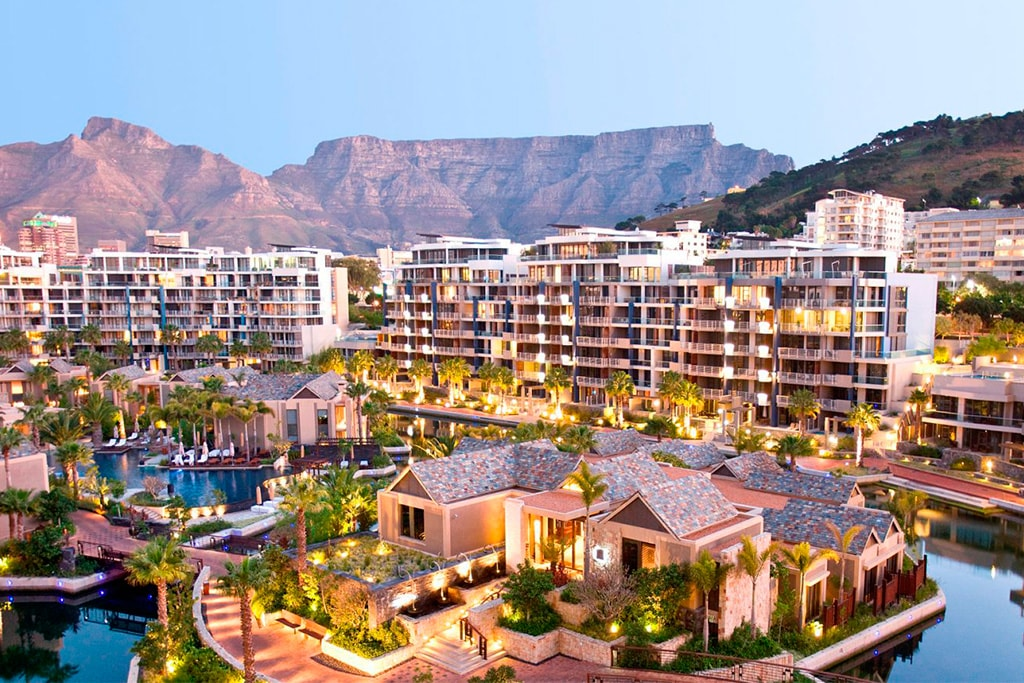 Resort One and Only en cape Town. Exteriores. Vista general