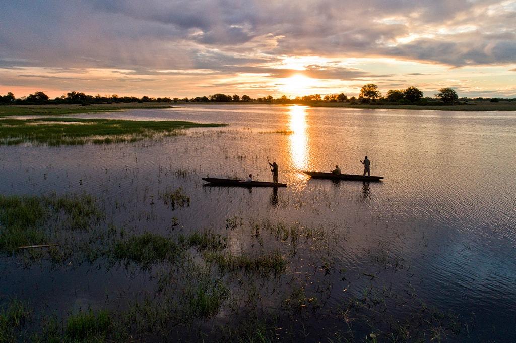 Safari lujo en komoros en delta Okavango