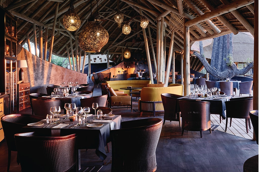 restaurante en belmond lodge