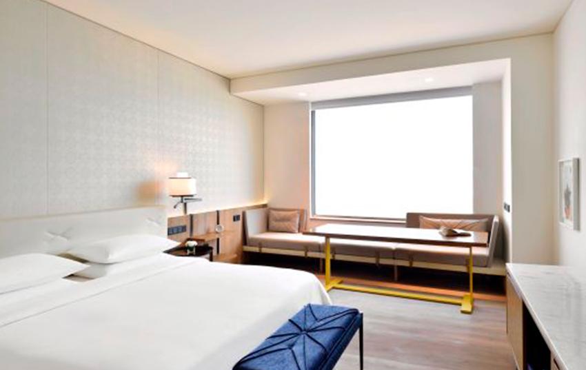 Hotel Andaz Delhi habitacion