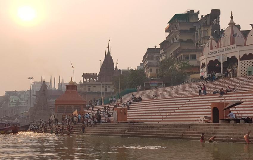 benares vista del rio