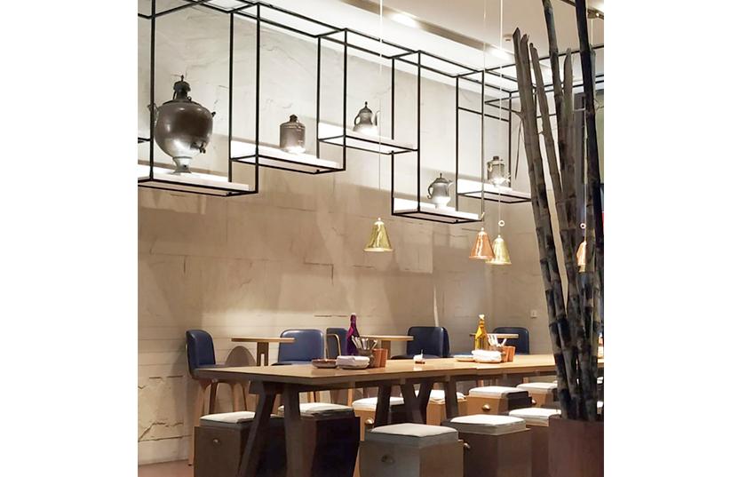Hotel Andaz Delhi estancia restaurantcomedor