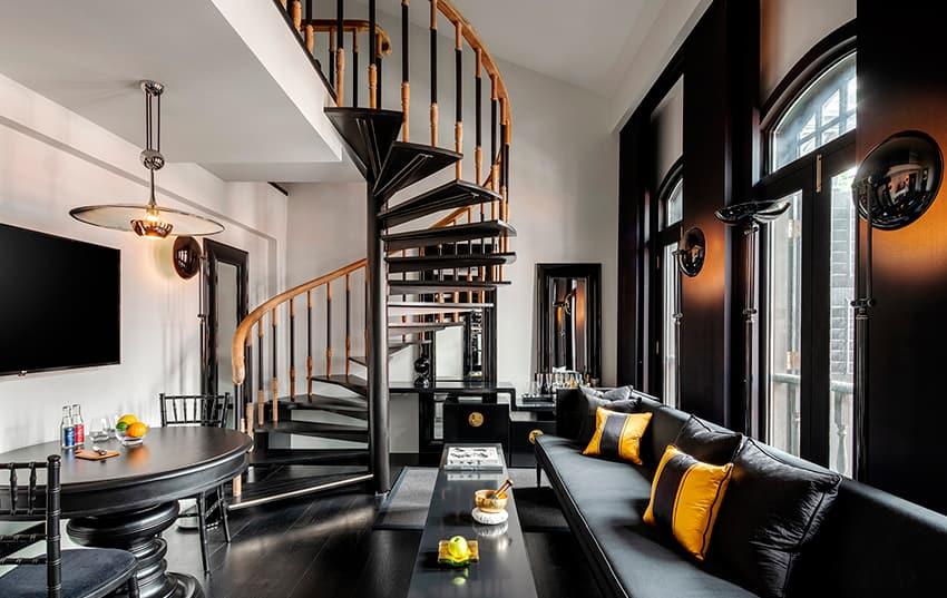 bar del hotel Six Senses Duxton en Singapur