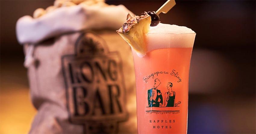 Long Bar en Singapur
