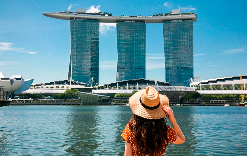 Esplanade Merlion en Singapur