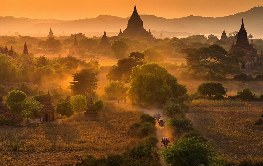 Myanmar destino viaje de novios en Diciembre