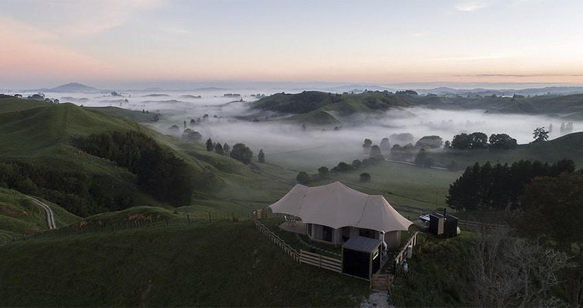 Resort en selva de Nueva Zelanda