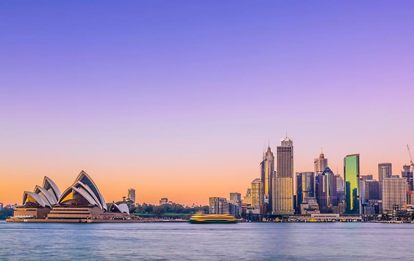 Bahia de Sydney en australia