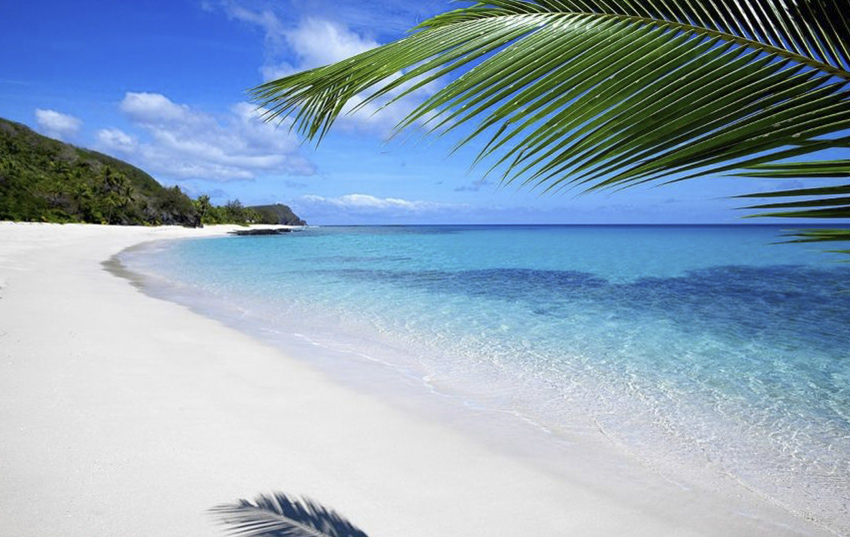 fiji destino playa luna de miel