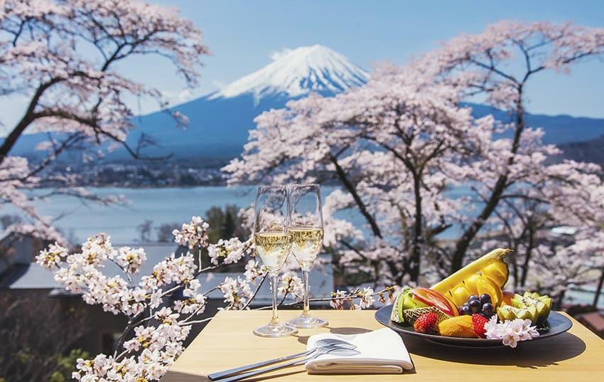 Japon luna de miel y monte fuji