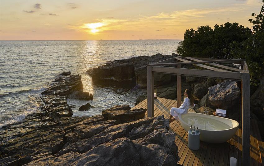 Krabey island destino viaje novios lujo