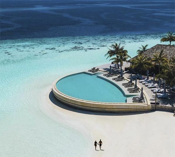 Islas maldivas destino viaje novios
