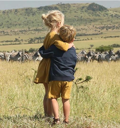 viajar con niños a Africa, Safari