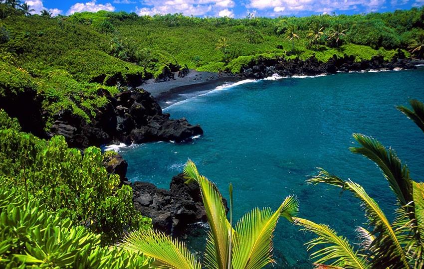 hawai destino viaje novios playa