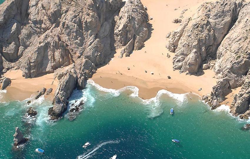 los cabos destino playa en viaje novios