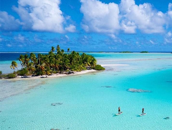 polinesia destino playa viaje de novios