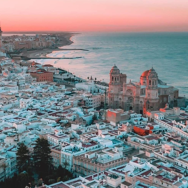 Vista de Cádiz