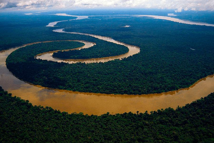 Destino expedición Amazonas