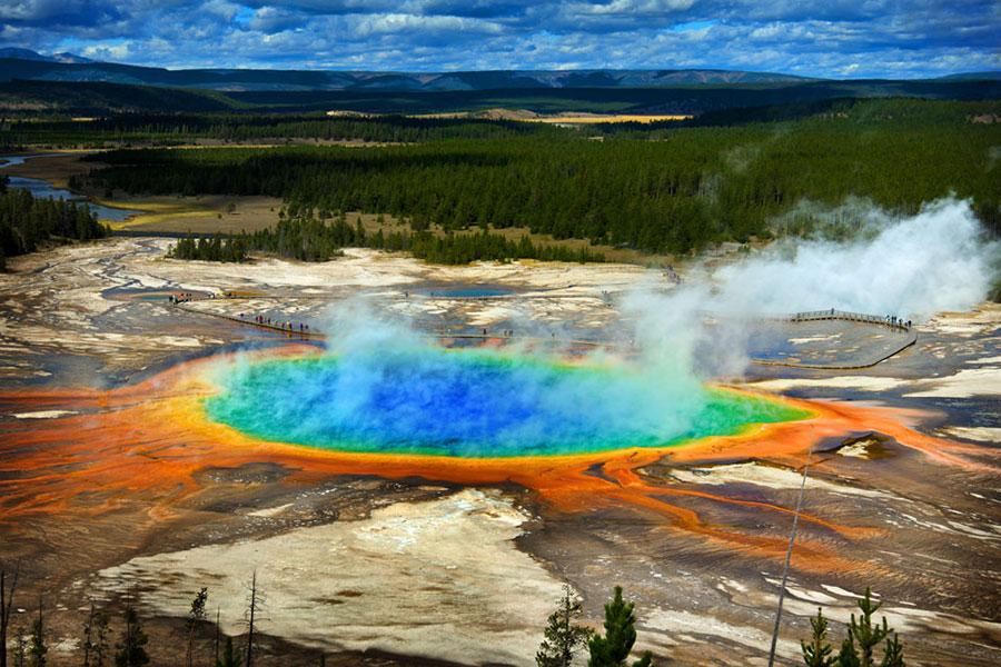Visita a Yellowstone