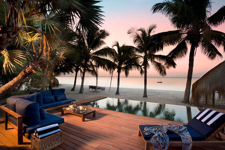 Botswana destino de viajes de novios en playa de lujo