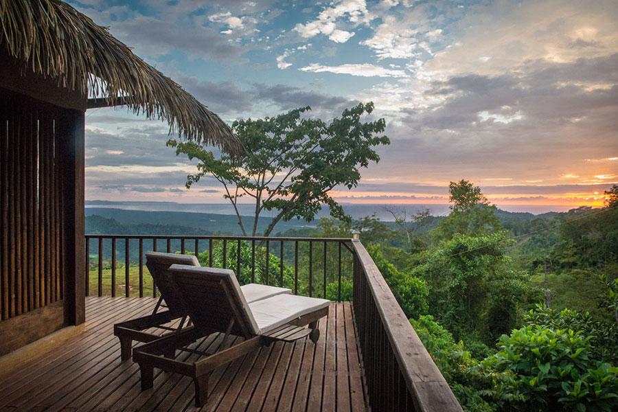 Costa Rica, hotel de lujo en la selva