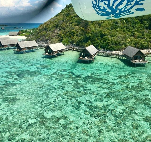 Japón hotel de lujo en playa