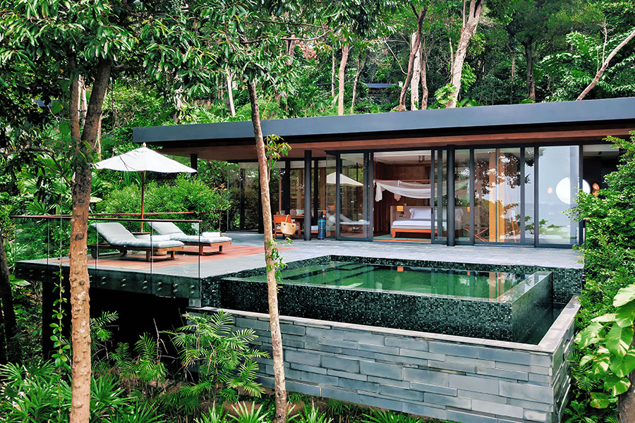 Myanmar destino a hotel de lujo en selva