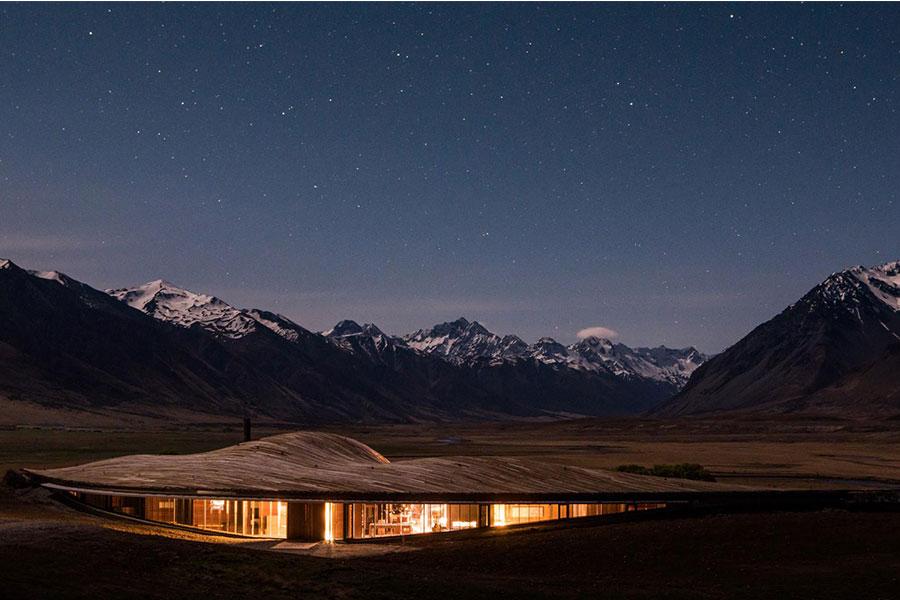 Nueva Zelanda hotel lujo ecologico