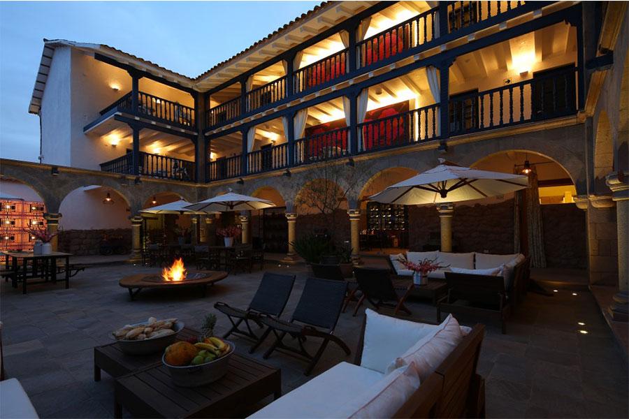 Peru hotel colonial de lujo